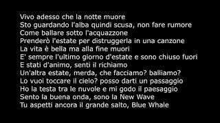 Salmo   Estate Dimmerda ( TESTO + AUDIO ) Music Video Lyrics