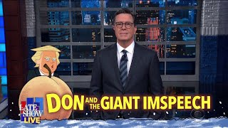 Colbert's LIVE Monologue Following Trump's 2020 State Of The Union Address thumbnail