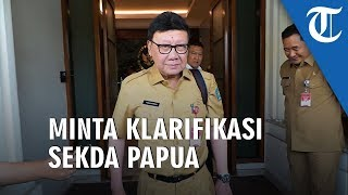 Mendagri Minta Klarifikasi Sekda Papua Terkait Pernyataan Tanah Israel ke Dua