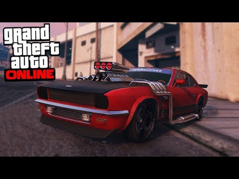 GTA 5 Smuggler's Run DLC - BEST MUSCLE CAR