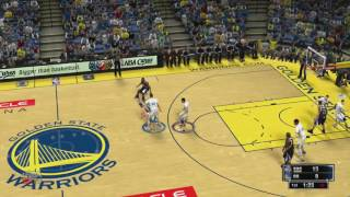 JTG  NBA 2k14 xbox 360 Kings  Warriors full game12