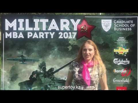 Видео благодарность ALMAU маевка милитери май 2017
