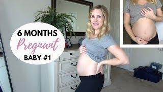 6 MONTHS PREGNANT UPDATE | Anatomy scan, weight gain, belly shot
