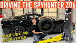 SPYING On A SPY'S Z06 Corvette *Complete Inspection And Brand New TIRES*