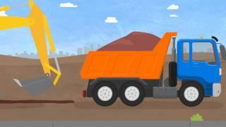 Çizgi film - Doktor Mac Wheelie - Çöp kamyonu