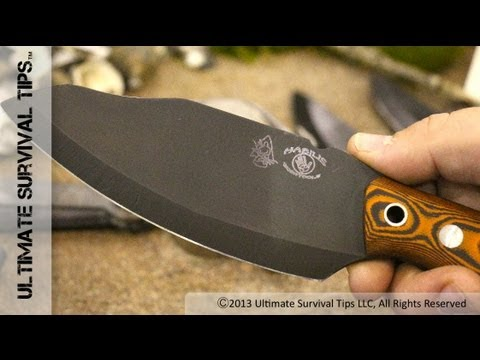 WOW! Best Wilderness / Bushcraft Survival Knife? – David Discovers Habilis Bushtool Survival Knife