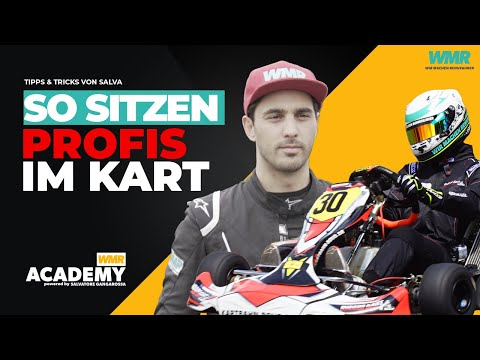 Kartfahren Tipps: richtig Sitzen • Tipps & Tricks von Salva