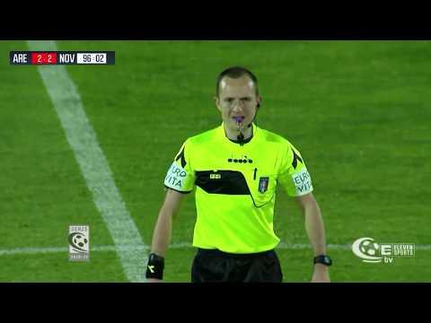 Play-off / Arezzo-Novara 2-2, la sintesi della partita