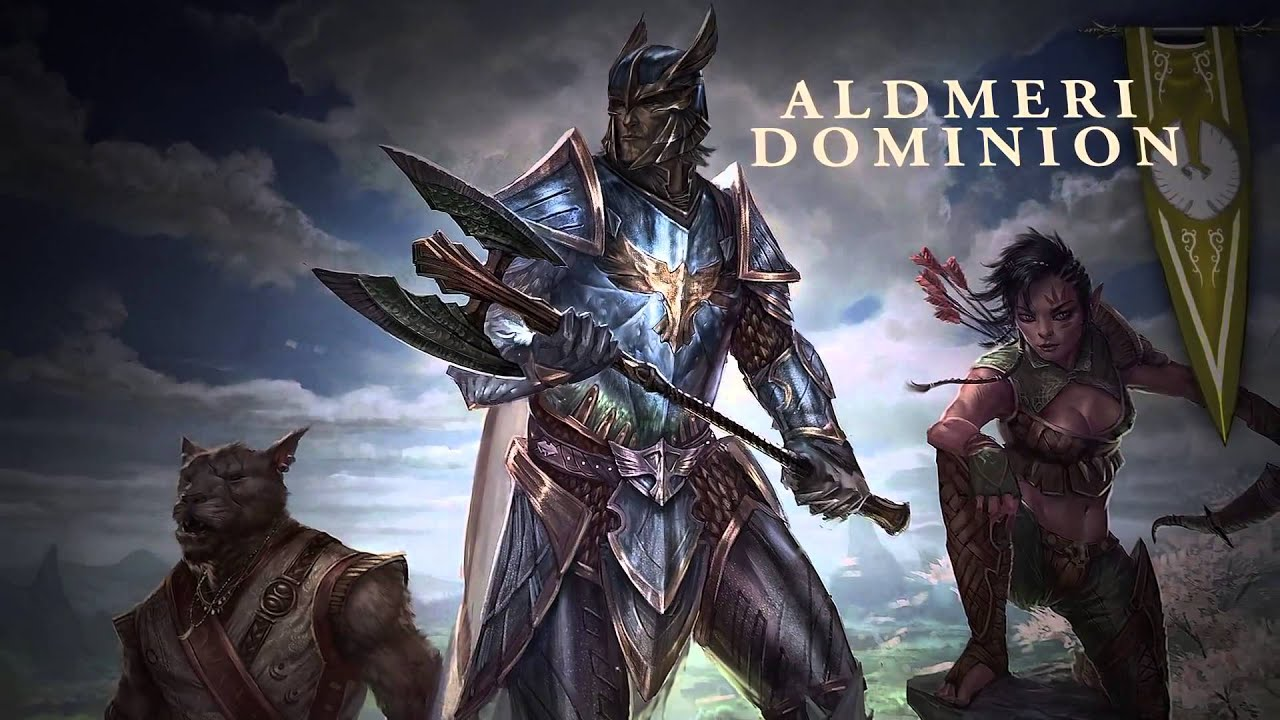 Elder Scrolls Online: видео - The Elder Scrolls Online: Alliances at War (RUS)