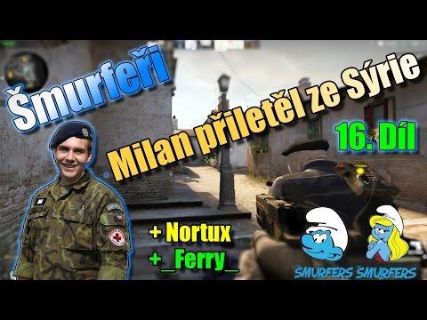 #16 |Counter-Strike:GO| Šmurfeři - Milan přiletěl ze Sýrie | Inferno | MinecraftOSTRAVSKY|FullHD