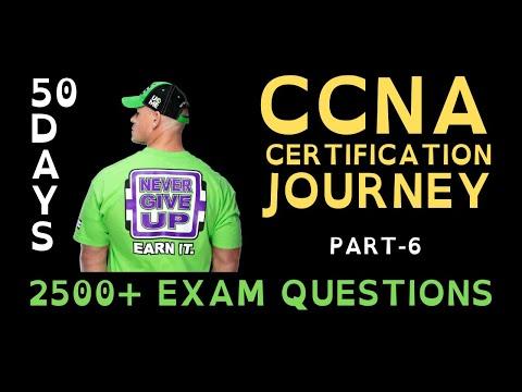 6. 50 Days CCNA Certification Journey   CCNA 200-301 ... - YouTube