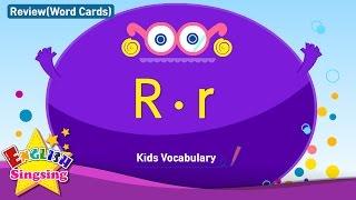 Kids từ vựng biên soạn - Words bắt đầu với R, r 2