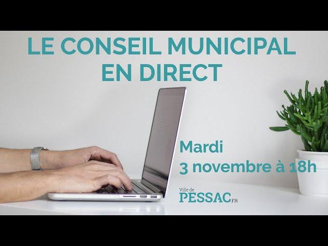 Conseil municipal du 3 novembre 2020