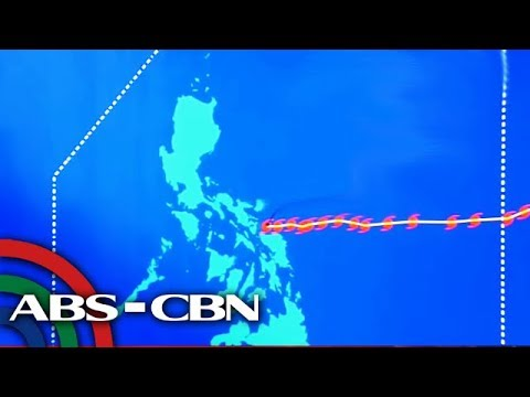 [ABS-CBN]  PAGASA gives updates on Typhoon Tisoy