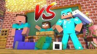 Monster School : NOOB vs PRO Challenge - Minecraft Animation