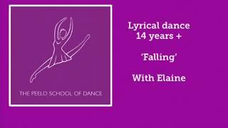 Lyrical 14 yrs+ 'Falling' with Elaine