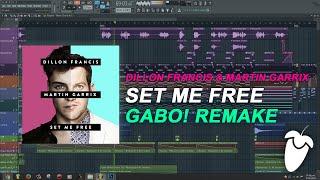 Dillon Francis & Martin Garrix - Set Me Free (Original Mix) (FL Studio Remake + FLP)