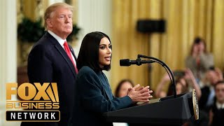 Trump, Kim Kardashian discuss prison reform at Second Chance hiring event