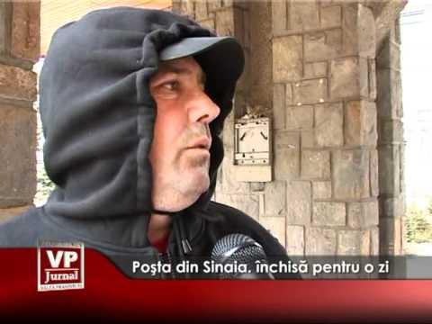 Poşta din Sinaia, închisă pentru o zi