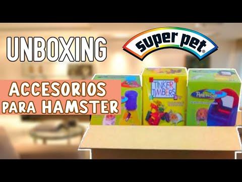 ACCESORIOS para HAMSTER UNBOXING SUPER PET ❤️🐹