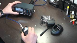 Работа S-метра на радиостанциях Linton, Nanfone и Joker TK