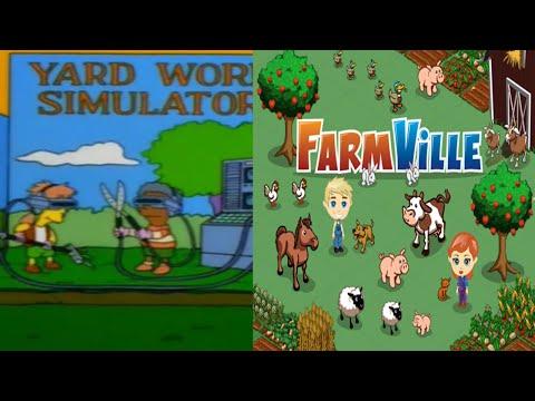Los Simpsons Predicciones: Predicen El Videojuego De Farmville