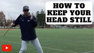 How To Keep Your Head Still When Hitting | Baseball Hitting Tips