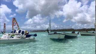 preview picture of video 'plage sainte anne guadeloupe avril 2015'