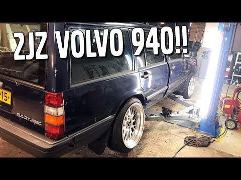 I'M BACK!! -  2JZ VOLVO 940 NEW WHEELS AND WIRING HARNESS!