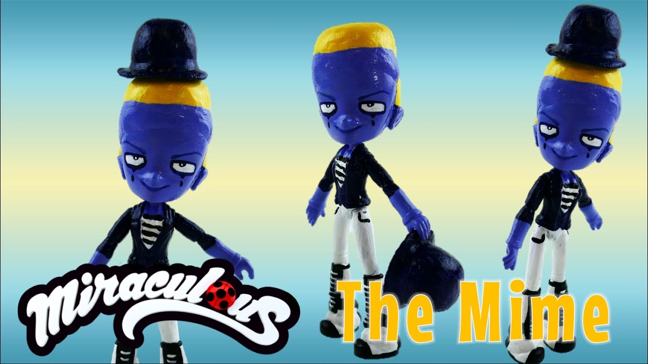 THE MIME Doll - Transform MLP Equestria Girls into Miraculous Ladybug Villain Toy