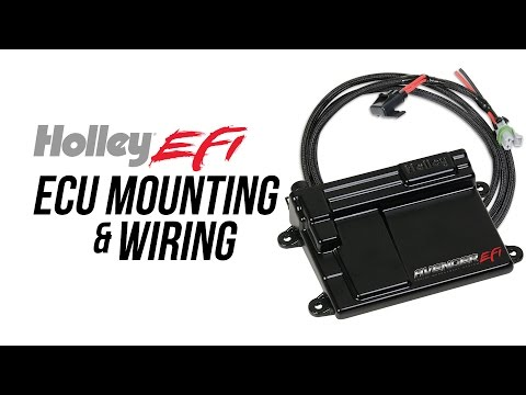 Holley EFI ECU Mounting & Wiring