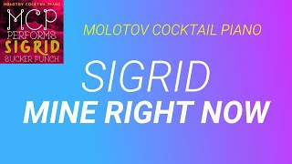 Mine Right Now ⬥ Sigrid 🎹 cover by Molotov Cocktail Piano
