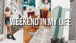 WEEKEND IN MY LIFE VLOG | Downtown Tampa, Ybor, Random Footage