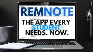 RemNote - The Note-taking App EVERY Student Needs. NOW.