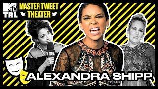 Liza Koshy, Alexandra Shipp & DC Young Fly in 'Master Tweet Theatre' | TRL
