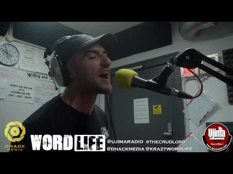 Datkid Freestyle on The Wordlife Show hosted by Krazy @dhackmedia