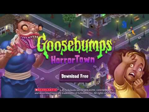 Vídeo do Goosebumps HorrorTown - Construa cidades-monstro