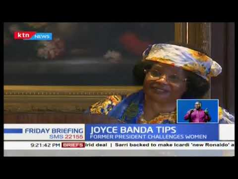 Joy Banda Tips: Former head of state challenges women to aspire for top