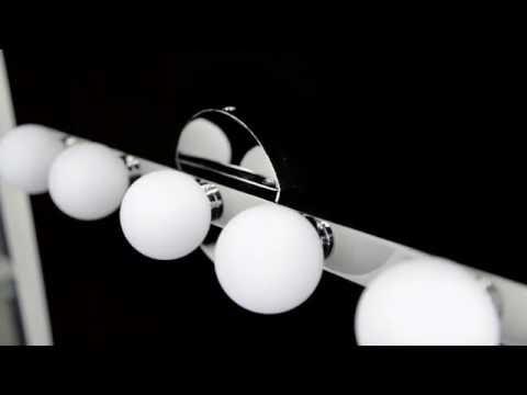 Video for Taft Polished Chrome LED 35-Inch Nine-Light Bath Sconce
