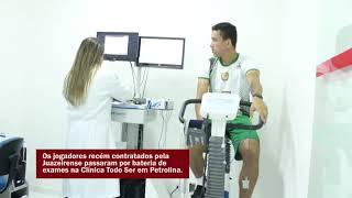 Imagem do vídeo Jogadores passam por exames médicos em Petrolina