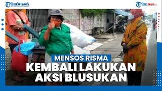 Mensos Risma Kembali Blusukan di DKI Jakarta, Kali Ini Temui Tunawisma di Sekitar ITC Roxy Mas