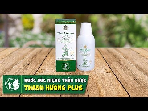 Thanh Hương Plus - nước súc miệng 100% từ thảo dược thiên nhiên điều trị hôi miệng hiệu quả