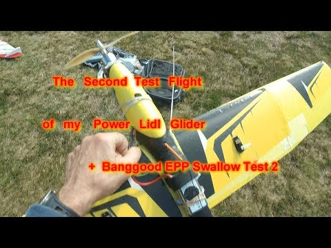 lidl-power-glider-test-2--great-test-flight-2-of-the-swallow-epp-budget-wing