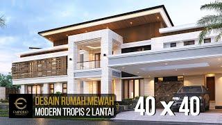 Video Desain Rumah Modern 2 Lantai Bapak Hendry II di  Banjarmasin, Kalimantan Selatan