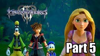 Kingdom Hearts 3 [PS4 PRO] Gameplay Walkthrough Part 5 - Kingdom of Corona (No Commentary)