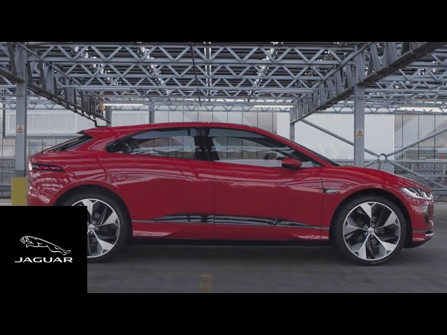 Jaguar I-PACE Concept | Photon Red Driven In London