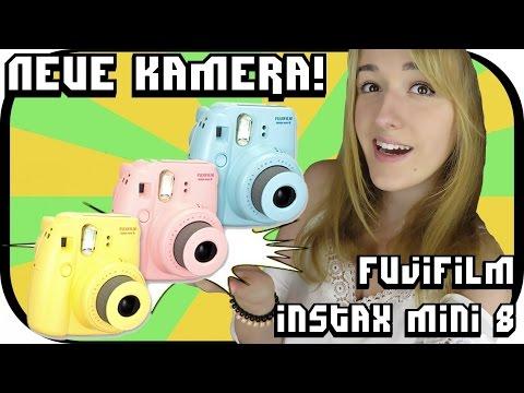 Sofortbildkamera Fujifilm Instax mini 8 Review| Tara Lee