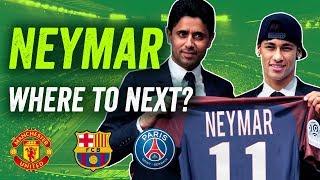Neymar transfer to PSG, Manchester United or Barcelona stay?