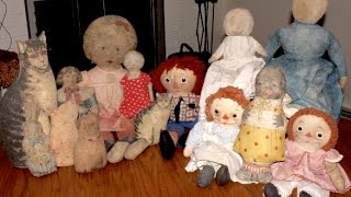 Collecting Cloth Dolls By Antique Dealer Deanna Moyers