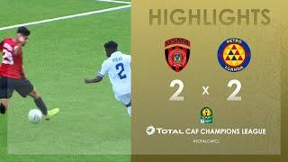 CL CAF : USM Alger 2-2 Atlético Petróleos